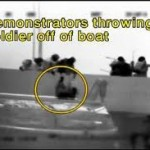Throwing Israeli Soldiers off the Turkish Mavi Marmara