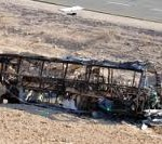 Civilian Bus after attack by Terrorists