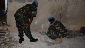 UN Troops at Shavei Tsion
